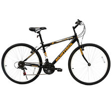 26'' Hybrid Mountain Bike 18 Speed Front Suspension Bicycles Hard Tail Shimano