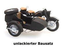 Artitec 10.280 - 1:87: BMW R75 und Beiwagen, Bausatz, unlackiert - NEU + OVP