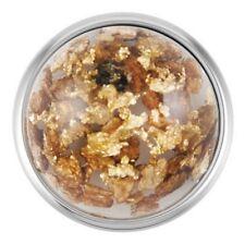 "Ginger Snapsâ""¢ Flecked Gold White Sn08-86 Buy 4, Get 5Th $6.95 Snap Free"