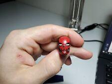 Mezco Custom 1/12 Iron Man Punisher Red Skull Head Marvel Legends