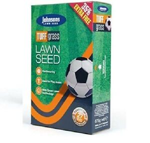Johnsons Tuff Grass Dog Urine Resistant Lawn Seed 500g