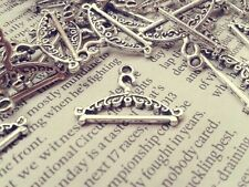 Antique Silver Clothes Hanger Charms 20pcs D1 Steampunk Pendant Vintage Kitsch