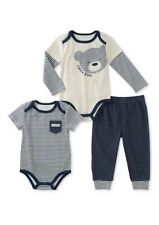 Calvin Klein 3-Pc.Striped  Bodysuits & Pants Set, Baby Boys 18 Months
