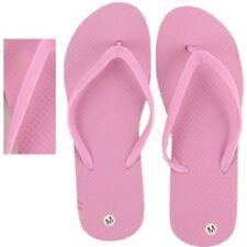 Women's Flip Flops, Wholesale lot of 48 pairs, Pink Color with assorted Sizes