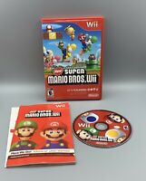 New Super Mario Bros. Wii (Nintendo Wii, 2009) - Tested Working