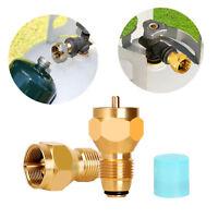 Propane Refill Adapter Lp Gas 1lb Small Cylinder Tank Brass Coleman Heater Shell