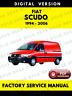 Fiat Scudo 1994-2006 Service Repair Workshop Manual