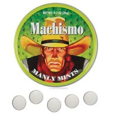 Machismo Mints Manly Hard Candy Candies Mint Manley Man Treats Sweets Breath