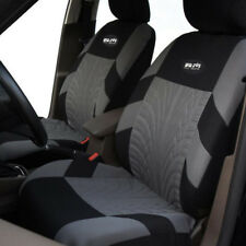 Tire Track Styling Car Seat Covers Stitch Black&Gray Seat Protection Accessories