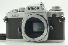 【NEAR MINT w/Cap】NIKON FM3A Silver SLR 35mm Film Camera From Japan #FedEx# 984