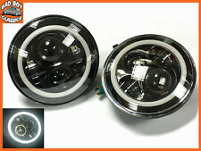 DEFENDER 90 110 Pair Upgrade LED Halo Headlights 40W High / Low Beam 7""