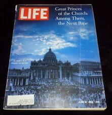 LIFE Magazine June 14, 1963 Great Princes Of The Church The Next Pope, St Peters