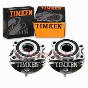 2 pc Timken Front Wheel Bearing Hub Assembly for 2006-2018 Toyota RAV4 2.5L pg