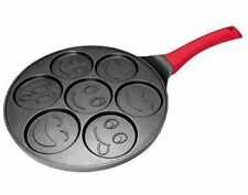 Non-Stick Aluminum Griddle with Heat-Resistant Silicone Handle