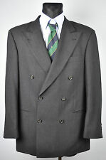 HUGO BOSS Double Breasted Charcoal Colour Vintage Blazer UK 40 Jacket EUR 50 Gr
