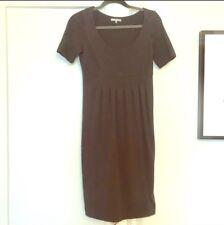 James Perse Black Cotton Basic Midi Dress Size 1 / XS