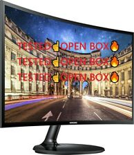 """Samsung Cf390 Series LC24F390FHNXZA 24"""" LED Curved Monitor OPEN BOX🔥"""