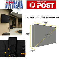 65 Inch Waterproof Television Cover Outdoor TV Cover for 60-65 inch TV