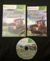 Farming Simulator — Complete! Fast Shipping! Acceptable! (Xbox 360, 2013)
