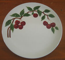 Cherry Orchard Ware Calififornia 1950 Retro Mid Century 1 Dinner Plate Vintage