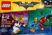 100% LEGO Disco Batman & Tears of Batman 30607 Polybag Minifigures DC Comic NEW