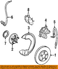 Lincoln FORD OEM 98-02 Continental Front Brake-Flex Hose 1F3Z2078AA