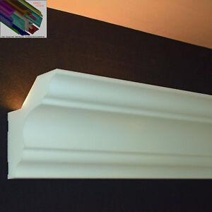 """Stuckleiste Stuckprofil für LED Beleuchtung 16 M+4 I-Ecken+3 Kleber Dekor """"Lea"""""""