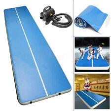 2x3m Air Track Tumbling Inflatable Gym Mat Floor Home Gymnastics Pad 110V Pump