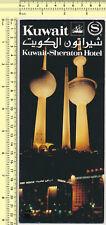 066 KUWAIT SHERATON HOTEL vintage original brochure prospect travel guide