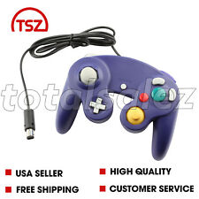 For Nintendo Game Cube Purple Controller Joy Stick Pad Remote Video System