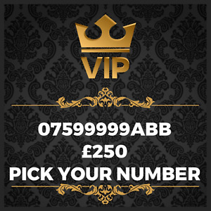 GOLD VIP BUSINESS EASY MEMORABLE EXCLUSIVE PLATINUM MOBILE PHONE NUMBER 99999ABB