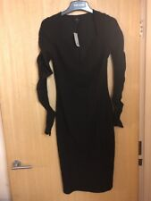 591d6cc942 Black River Island Dress Size 10 With Tags