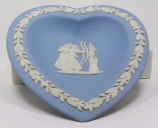 Wedgewood Jasper (Pale Blue) Sweet Dish Heart
