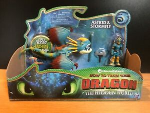 How To Train Your Dragon Toy And Figure  Hidden World ASTRID & STORMFLY New