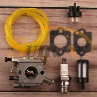 Carburateur & Bougie d'allumage pour Stihl 020T MS200 MS200T ZAMA C1Q-S126B