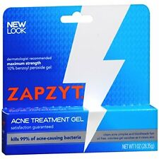 ZAPZYT Maximum Strength 10 Acne Treatment Gel 1 oz - Exp 09-18