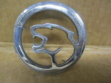 MERCURY COUGAR ROOF PILLAR EMBLEM ORNAMENT GROWLING CAT OUTLINE CHROME METAL OEM