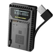 Nitecore UNK1 USB Digital Charger for Nikon EN-EL14 EL14a EL15 Camera Batteries