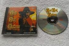 MAD DOG McCREE WANTED DEAD OR ALIVE PHILLIPS CDi CD-i ( arcade shooter game )