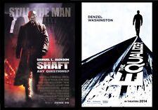 """HUGE Original D/S SHAFT SAMUEL JACKSON 48""""X70"""" + EQUALIZER DENZEL WASHINGTON"""