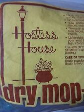 Stanley Home Products Hostess House Dry Mop head 1960s New Old Stanhome #3215