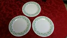 3 Martha Stewart Morning Glory Dinner Plates