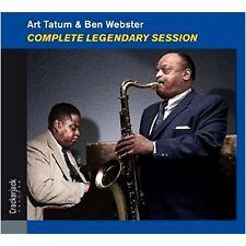 ART TATUM & BEN WEBSTER - Complete Legendary Session (Remastered / Digisleeve)