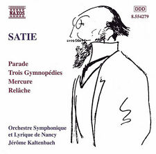 E. Satie - Orchestral Works [New CD]