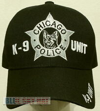 NEW CHICAGO K-9 K9 DOG TEAM UNIT POLICE OFFICER SPECIAL AGENT DEPT CORPS CAP HAT
