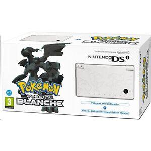 Console Nintendo Dsi Edition Limitée Pokémon Version Blanche
