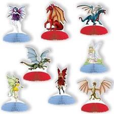 Fantasy Dragons Mini Centerpiece Set 8 Pack Medieval Halloween Party Decoration