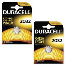 2 x DURACELL CR2032 Batteria al Litio 3V Pulsante MEDAGLIA BATTERIE 2032 br2032 L14