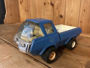 Large Vintage Tonka Toy Recovery Truck / Pick Up Blue