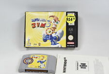 Earthworm Jim 3D - Nintendo 64 (N64) Game with Box - Cleaned & Tested